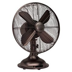 Hunter classic fan in oil-rubbed bronze. Really want this!