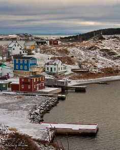 Village of Trinity, Newfoundland (pronounced New-fund-land to rhyme with understand), Canada. Newfoundland Canada, Newfoundland And Labrador, O Canada, Canada Travel, Quebec, Beautiful World, Beautiful Places, Ontario, Atlantic Canada