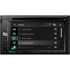 "PIONEER AVIC-6000NEX 6.1"" Double-DIN NEX Navigation AV Receiver with WVGA Touchscreen, HD Radio(R) Ready, SiriusXM(TM) Ready, AppRadio(R) Mode, 7.9 Million POIs & Text-to-Speech Voice Guidance. Dual Rear USB Inputs: USB port allows connection to digital devices such as flash drives, portable media players, etc. Rear RCA Video Output: Used for connection to separate monitors and other devices. Rear Auxiliary Input: 3.5mm headphone jack allows connection to portable media devices such as…"