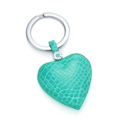 Tiffany Key Rings Heart Key Ring