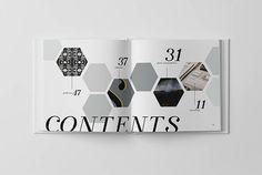 documet layout hexagons - Google Search