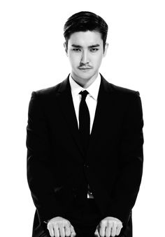 Siwon. I'm warning you. Shave that moustache before I fly myself over there and shave it for you. -__-+