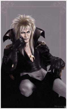 "Jareth from the legendary fantasy film Labyrinth~ Marquise aka ""G672"" (R.I P David Bowie- 1/11/16"