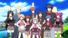 Little Busters! Kyousuke and Riki