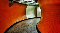 TUBE STATION PEDESTRIAN TUNNEL | LONDON | ENGLAND: *London Underground*