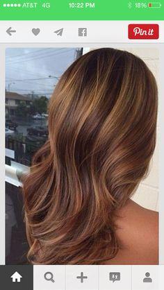 Color (highlights for brunettes)