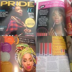 International #superstar #MUA @denisetunnell @janicetunnell of @illusions_cosmetics @illusionsbeauty feature on 3 pages in @pridemagazinenigeria so proud!!! Grab your copy from all good #Nigerian supermarkets #airports if you'd like to write or have your brand featured by Pride NG get in touch for rate card. #pr #marketing #advertorial #editorial #beauty #fashion #culture #Africa #glossymag #bimonthly #takepridedaily