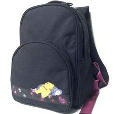 Backpack Rucksack Disney Winnie the Pooh Girls Womens Ladies Black School Bag Black School Bags, Disney Winnie The Pooh, Rucksack Backpack, Backpacks, Lady, Girls, Women, Little Girls, Daughters