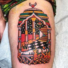 b5f1aa40d4bb7 RobertRyan323 | Tattoo by Robert Ryan #RobertRyan #color ...