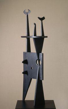 Noguchi, Isamu  Untitled 1945 wood overall: 127 x 48.2 x 23.5 cm (50 x 19 x 9 1/4 in.)