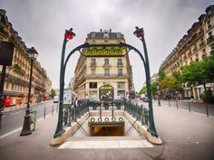 Paris, France — Paris has a widely-used metro service, which has 16 lines traversing the city.