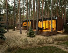 Into The Woods: Studio YOD Lab's Verholy Guest Houses / Ukraine
