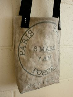 French mail bag.
