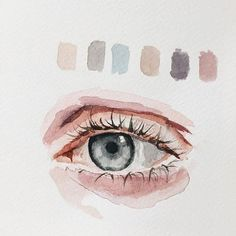 What is Your Painting Style? How do you find your own painting style? What is your painting style? Watercolor Eyes, Watercolor Portraits, Watercolor Paintings, Watercolours, Painting Portraits, Simple Watercolor, Watercolor Artists, Watercolor Pencils, Art Paintings