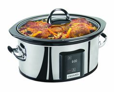 $59.99 amazon.ca Crock-Pot 6.5 Qt Touchscreen Slow Cooker