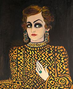 'Someone From the Past' by Fahrelnissa Zeid, 1980