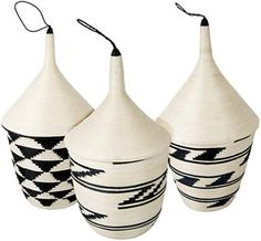 Traditional sisal baskets from Rwanda, Africa.✋✋More Pins Like This At FOSTERGINGER @ Pinterest☝✋