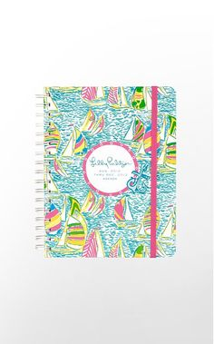 Love this.  But I can't decide if I need a new agenda.  Lilly Pulitzer 2013 Large Agenda in Multi You Gotta Regatta