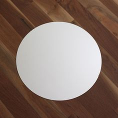 Round Centerpiece Table Mirror - 14in. Diameter Beautiful round table mirror is perfect to use as part of your wedding centerpiece to display your floral arrangements on that special day. Looks great under votive candles as well. Mirror measures 14 inches in diameter. #diycenterpiece