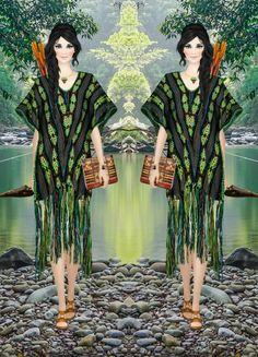 75. Dress - Miguelina | Bag - Camilla | Shoes - Frye | Necklace - Isharya | Bracelet - Isharya