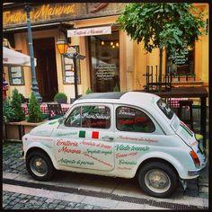 Italian restaurant in Budapest (Mamma)