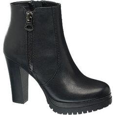 | #Catwalk #Stiefeletten #schwarz #für #Damen
