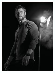 Chris Hemsworth Henley BOSS Men's Health UK Photo Shoot 2017