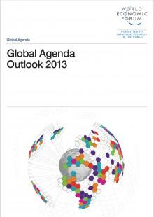 #WEF Global Agenda Outlook 2013. The report is organised according to six themes: globalization, economics, geopolitics, science and technology, international development, and leadership values.