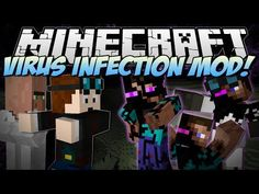 Minecraft | VIRUS INFECTION! (Can You Save the World from EVIL?) | Mod Showcase