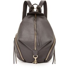 Backpack for Women On Sale, Light Grey, Leather, 2017, one size Rebecca Minkoff