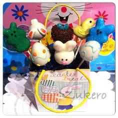 bunnies, bunny butts, peeps, chicks,eggs and bird nest. Holiday Cakes, Holiday Decor, Cake Pop Designs, Easter Cake Pops, Egg Hunt, Easter Eggs, Bunnies, Peeps, Nest