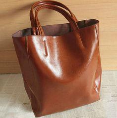 love the bottom  https://www.etsy.com/listing/154084350/118x157-brown-leather-bag-shopping-bag