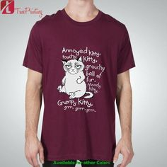 Grumpy Cat Annoyed Kitty Quote Funny Big Bang Theory for Men T-Shirt, Women T-Shirt, Unisex T-Shirt