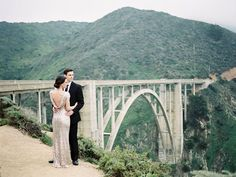 Ashley + Brian's Glam Big Sur Engagement : Faith of Winsome + Wright Photography Co. Engagement Outfits, Engagement Pictures, Engagement Session, Bixby Bridge, Perspective Photography, Bridal Musings, Engagement Inspiration, Green Wedding Shoes, Big Sur