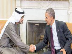 الفجر Elfajar Elgadeed: محمد بن زايد وأوباما يبحثان العلاقات الثنائية والق...