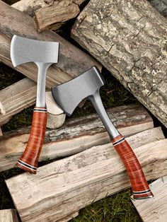 Sportsman ax with leather grip by Estwing Manufacturing in Illinois ($40, Cabela's) | Made in America - Country Living