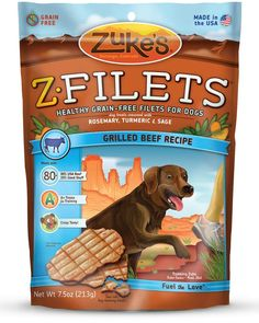 Zukes Z Filets Select Grain Free Dog Treat Grilled Beef 7 5 oz Grilled Venison Recipe, Savory Chicken Recipe, Grilled Beef, Venison Recipes, Grilled Chicken Recipes, Healthy Chicken, Chicken Filet, Beef Filet, Dog Treat Recipes
