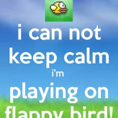 Flappy Bird Wallpaper http://whatstrendingonline.com/flappy-bird-wallpaper/