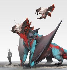 Top 50 and creatures from 2018 Cute Fantasy Creatures, Mythical Creatures Art, Alien Creatures, Magical Creatures, Monster Concept Art, Fantasy Monster, Monster Art, Creature Concept Art, Creature Design