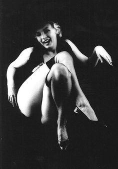 Marilyn Monroe The black sitting, Milton Greene