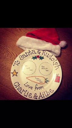 Add a touch of Magic to Christmas with our by ChristmasEvePlates, £9.50