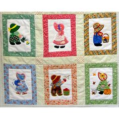 sunbonnet sue and sam applique patterns | Sunbonnet Sue and Sam