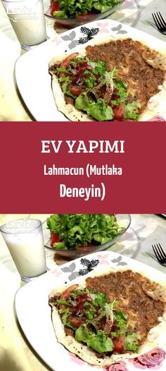 Best Easy Cake : Homemade Lahmacun (Must Try), Meat Recipes, Dinner Recipes, Turkish Pizza, Homemade Beauty Products, Health Fitness, Food And Drink, Beef, Ethnic Recipes, Easy