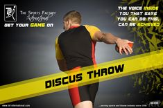 #Discus throw #The voice inside you that says you can do this, can be achieved #TSFI www.tsf-international.com