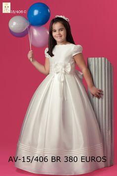 Vestido de comunión por @noviascira http://goo.gl/RsYCIN #juntospodemos