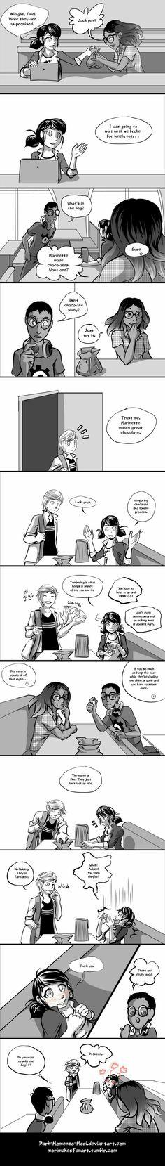 Prodigiosa: Las aventuras de Ladybug & Chat Noir                          Cómic ''Valentine's Day''                            Part 2     (Créditos a quien corresponda)