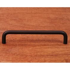 This oil rubbed bronze finish oversized cabinet pull with wire design from RK International is perfect for use on cabinet doors and drawers capable of accepting a mounted pull.