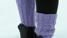 Säärystimet palmikkoneuleella - Yhteishyvä Boot Cuffs, Leg Warmers, Fingerless Gloves, Socks, Legs, Knitting, Crochet, Pattern, Accessories