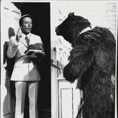 The Andy Williams Show...Monday night. The bear with milk and cookies. RIP Andy Williams
