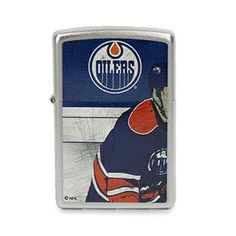 Zippo Edmonton Oilers Lighter #NHL